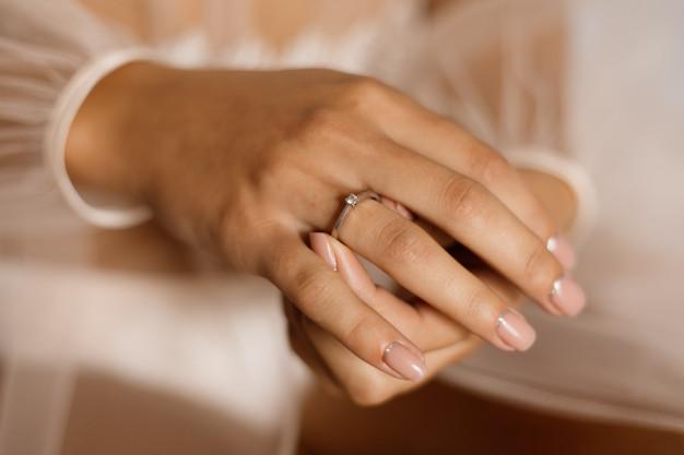 Verlovingsring welke hand